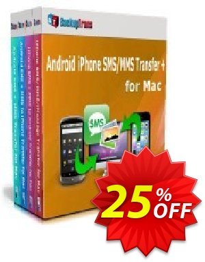 Backuptrans Android iPhone SMS/MMS Transfer plus for Mac (Business Edition) discount coupon Holiday Deals - stirring deals code of Backuptrans Android iPhone SMS/MMS Transfer + for Mac (Business Edition) 2020