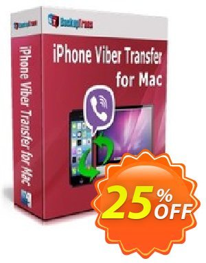 Backuptrans iPhone Viber Transfer for Mac (Personal Edition) discount coupon Backuptrans iPhone Viber Transfer for Mac (Personal Edition) wonderful deals code 2020 - awesome sales code of Backuptrans iPhone Viber Transfer for Mac (Personal Edition) 2020