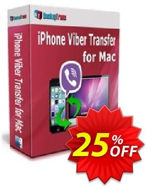 Backuptrans iPhone Viber Transfer for Mac (Family Edition) discount coupon Backuptrans iPhone Viber Transfer for Mac (Family Edition) stunning discount code 2020 - amazing offer code of Backuptrans iPhone Viber Transfer for Mac (Family Edition) 2020