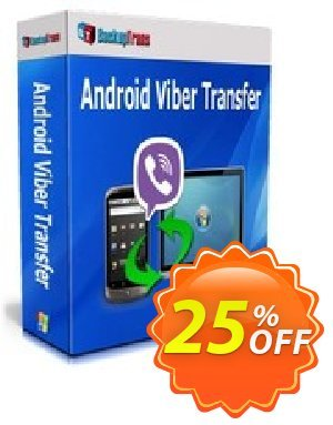 Backuptrans Android Viber Transfer discount coupon Backuptrans Android Viber Transfer (Personal Edition) hottest discount code 2020 - big offer code of Backuptrans Android Viber Transfer (Personal Edition) 2020