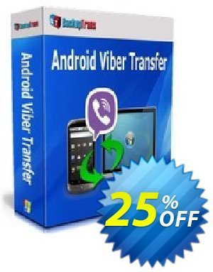 Backuptrans Android Viber Transfer (Business Edition) Coupon discount Backuptrans Android Viber Transfer (Business Edition) exclusive discounts code 2019 - special promo code of Backuptrans Android Viber Transfer (Business Edition) 2019