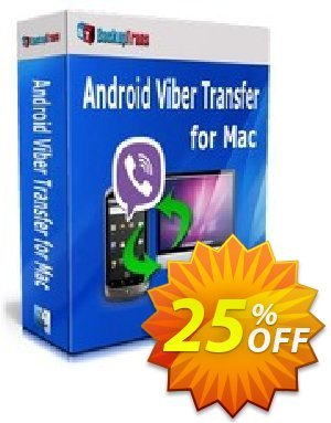 Backuptrans Android Viber Transfer for Mac discount coupon Backuptrans Android Viber Transfer for Mac (Personal Edition) awesome promotions code 2020 - exclusive discounts code of Backuptrans Android Viber Transfer for Mac (Personal Edition) 2020