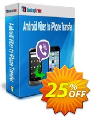 Backuptrans Android Viber to iPhone Transfer discount coupon Backuptrans Android Viber to iPhone Transfer (Personal Edition) stunning offer code 2020 - amazing deals code of Backuptrans Android Viber to iPhone Transfer (Personal Edition) 2020