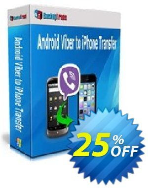 Backuptrans Android Viber to iPhone Transfer (Business Edition) discount coupon Backuptrans Android Viber to iPhone Transfer (Business Edition) imposing promo code 2020 - staggering discount code of Backuptrans Android Viber to iPhone Transfer (Business Edition) 2020