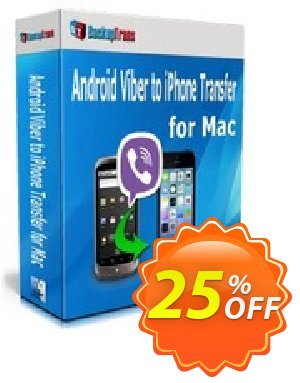 Backuptrans Android Viber to iPhone Transfer for Mac (Family Edition) Coupon discount Backuptrans Android Viber to iPhone Transfer for Mac (Family Edition) impressive promotions code 2020 - stirring discounts code of Backuptrans Android Viber to iPhone Transfer for Mac (Family Edition) 2020