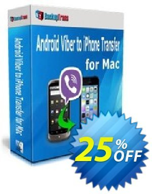 Backuptrans Android Viber to iPhone Transfer for Mac (Business Edition) Coupon discount Backuptrans Android Viber to iPhone Transfer for Mac (Business Edition) formidable sales code 2020 - impressive promotions code of Backuptrans Android Viber to iPhone Transfer for Mac (Business Edition) 2020