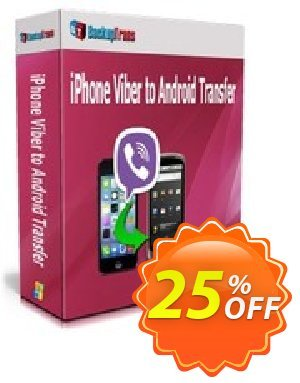 Backuptrans iPhone Viber to Android Transfer discount coupon Backuptrans iPhone Viber to Android Transfer (Personal Edition) fearsome deals code 2020 - formidable sales code of Backuptrans iPhone Viber to Android Transfer (Personal Edition) 2020