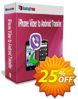 Backuptrans iPhone Viber to Android Transfer (Family Edition) discount coupon Backuptrans iPhone Viber to Android Transfer (Family Edition) dreaded offer code 2020 - fearsome deals code of Backuptrans iPhone Viber to Android Transfer (Family Edition) 2020