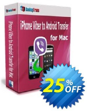 Backuptrans iPhone Viber to Android Transfer for Mac (Family Edition) discount coupon Backuptrans iPhone Viber to Android Transfer for Mac (Family Edition) wondrous discounts code 2020 - marvelous promo code of Backuptrans iPhone Viber to Android Transfer for Mac (Family Edition) 2020