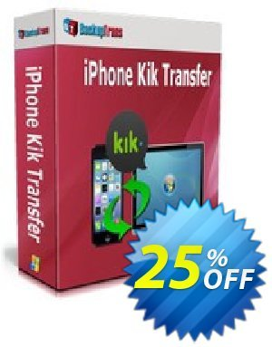 Backuptrans iPhone Kik Transfer (Family Edition) Coupon discount Backuptrans iPhone Kik Transfer (Family Edition) stunning discounts code 2019 - amazing promo code of Backuptrans iPhone Kik Transfer (Family Edition) 2019