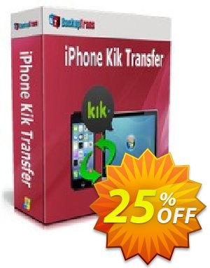Backuptrans iPhone Kik Transfer (Business Edition) discount coupon Backuptrans iPhone Kik Transfer (Business Edition) staggering promotions code 2020 - stunning discounts code of Backuptrans iPhone Kik Transfer (Business Edition) 2020