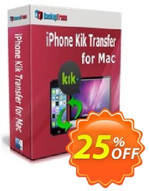 Backuptrans iPhone Kik Transfer for Mac (Personal Edition) Coupon discount Backuptrans iPhone Kik Transfer for Mac (Personal Edition) imposing sales code 2019 - staggering promotions code of Backuptrans iPhone Kik Transfer for Mac (Personal Edition) 2019