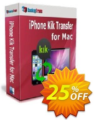 Backuptrans iPhone Kik Transfer for Mac (Family Edition) Coupon discount Backuptrans iPhone Kik Transfer for Mac (Family Edition) stirring deals code 2019 - imposing sales code of Backuptrans iPhone Kik Transfer for Mac (Family Edition) 2019