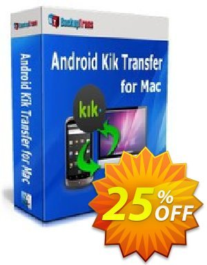Backuptrans Android Kik Transfer for Mac discount coupon Backuptrans Android Kik Transfer for Mac (Personal Edition) fearsome deals code 2021 - formidable sales code of Backuptrans Android Kik Transfer for Mac (Personal Edition) 2021
