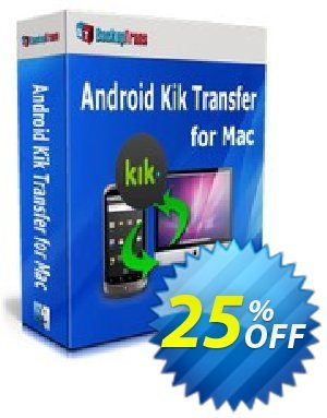 Backuptrans Android Kik Transfer for Mac (Business Edition) discount coupon Backuptrans Android Kik Transfer for Mac (Business Edition) excellent discount code 2021 - dreaded offer code of Backuptrans Android Kik Transfer for Mac (Business Edition) 2021