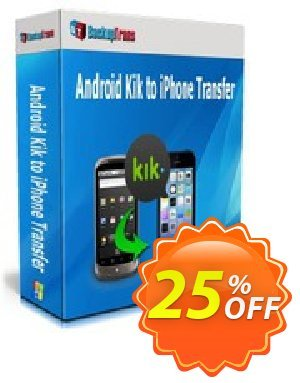 Backuptrans Android Kik to iPhone Transfer (Business Edition) discount coupon Backuptrans Android Kik to iPhone Transfer (Business Edition) impressive sales code 2021 - stirring promotions code of Backuptrans Android Kik to iPhone Transfer (Business Edition) 2021