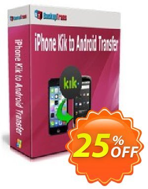 Backuptrans iPhone Kik to Android Transfer (Personal Edition) 優惠券,折扣碼 Backuptrans iPhone Kik to Android Transfer (Personal Edition) excellent promo code 2019,促銷代碼: dreaded discount code of Backuptrans iPhone Kik to Android Transfer (Personal Edition) 2019
