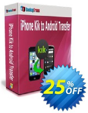 Backuptrans iPhone Kik to Android Transfer (Family Edition) Coupon discount Backuptrans iPhone Kik to Android Transfer (Family Edition) marvelous discounts code 2020 - excellent promo code of Backuptrans iPhone Kik to Android Transfer (Family Edition) 2020