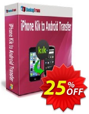 Backuptrans iPhone Kik to Android Transfer (Business Edition) Coupon discount Backuptrans iPhone Kik to Android Transfer (Business Edition) wondrous promotions code 2020 - marvelous discounts code of Backuptrans iPhone Kik to Android Transfer (Business Edition) 2020