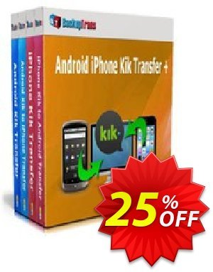 Backuptrans Android iPhone Kik Transfer + discount coupon Holiday Deals - formidable promotions code of Backuptrans Android iPhone Kik Transfer + (Personal Edition) 2020