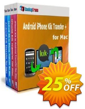 Backuptrans Android iPhone Kik Transfer + for Mac discount coupon Holiday Deals - excellent offer code of Backuptrans Android iPhone Kik Transfer + for Mac (Personal Edition) 2020
