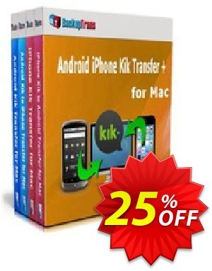 Backuptrans Android iPhone Kik Transfer + for Mac (Family Edition) Coupon discount Holiday Deals - marvelous discount code of Backuptrans Android iPhone Kik Transfer + for Mac (Family Edition) 2019