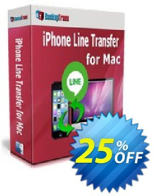Backuptrans iPhone Line Transfer for Mac (Personal Edition) Coupon discount Backuptrans iPhone Line Transfer for Mac (Personal Edition) special discounts code 2020 - hottest promo code of Backuptrans iPhone Line Transfer for Mac (Personal Edition) 2020