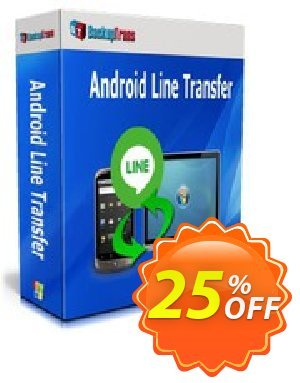 Backuptrans Android Line Transfer discount coupon Backuptrans Android Line Transfer (Personal Edition) wonderful deals code 2020 - awesome sales code of Backuptrans Android Line Transfer (Personal Edition) 2020
