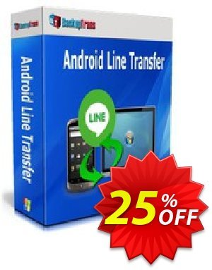 Backuptrans Android Line Transfer (Family Edition) Coupon discount Backuptrans Android Line Transfer (Family Edition) amazing offer code 2020 - wonderful deals code of Backuptrans Android Line Transfer (Family Edition) 2020