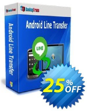 Backuptrans Android Line Transfer (Business Edition) discount coupon Backuptrans Android Line Transfer (Business Edition) stunning discount code 2020 - amazing offer code of Backuptrans Android Line Transfer (Business Edition) 2020