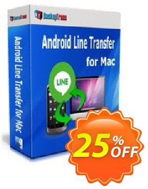 Backuptrans Android Line Transfer for Mac (Family Edition) Coupon discount Backuptrans Android Line Transfer for Mac (Family Edition) imposing discounts code 2020 - staggering promo code of Backuptrans Android Line Transfer for Mac (Family Edition) 2020