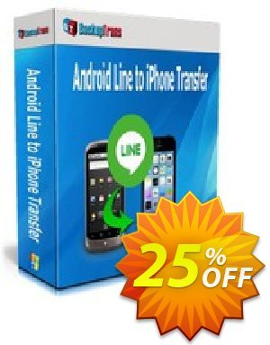 Backuptrans Android Line to iPhone Transfer (Family Edition) Coupon discount Backuptrans Android Line to iPhone Transfer (Family Edition) awful promotions code 2020 - awful discounts code of Backuptrans Android Line to iPhone Transfer (Family Edition) 2020