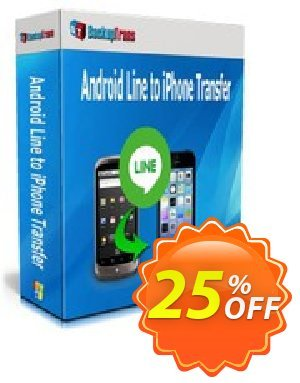 Backuptrans Android Line to iPhone Transfer (Business Edition) Coupon discount Backuptrans Android Line to iPhone Transfer (Business Edition) amazing sales code 2020 - awful promotions code of Backuptrans Android Line to iPhone Transfer (Business Edition) 2020