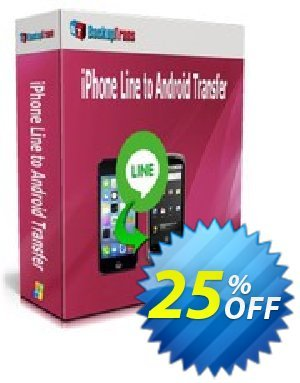 Backuptrans iPhone Line to Android Transfer (Personal Edition) discount coupon Backuptrans iPhone Line to Android Transfer (Personal Edition) hottest promo code 2020 - big discount code of Backuptrans iPhone Line to Android Transfer (Personal Edition) 2020