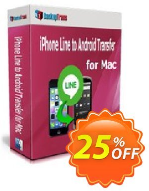 Backuptrans iPhone Line to Android Transfer for Mac (Family Edition) Coupon discount Backuptrans iPhone Line to Android Transfer for Mac (Family Edition) wonderful deals code 2020. Promotion: awesome sales code of Backuptrans iPhone Line to Android Transfer for Mac (Family Edition) 2020
