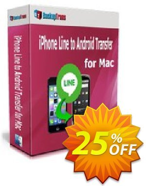 Backuptrans iPhone Line to Android Transfer for Mac (Business Edition) Coupon discount Backuptrans iPhone Line to Android Transfer for Mac (Business Edition) amazing offer code 2020 - wonderful deals code of Backuptrans iPhone Line to Android Transfer for Mac (Business Edition) 2020