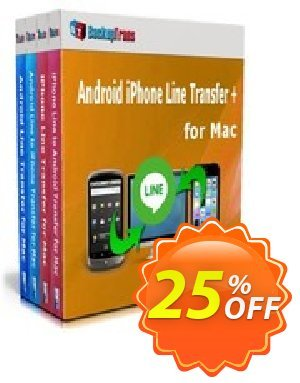 Backuptrans Android iPhone Line Transfer + for Mac (Personal Edition) Coupon discount Holiday Deals - marvelous discounts code of Backuptrans Android iPhone Line Transfer + for Mac (Personal Edition) 2019
