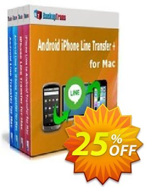 Backuptrans Android iPhone Line Transfer + for Mac (Family Edition) 優惠券,折扣碼 Holiday Deals,促銷代碼: wondrous promotions code of Backuptrans Android iPhone Line Transfer + for Mac (Family Edition) 2020