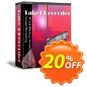 FileStream Take-1 Recorder Coupon, discount FileStream Take-1 Recorder staggering discounts code 2021. Promotion: staggering discounts code of FileStream Take-1 Recorder 2021