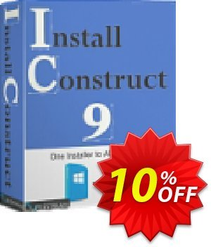FileStream InstallConstruct 9 Coupon, discount FileStream InstallConstruct 9 exclusive promotions code 2021. Promotion: exclusive promotions code of FileStream InstallConstruct 9 2021