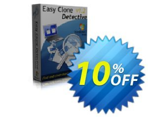 Easy Clone Detective - Single PC license Coupon, discount Easy Clone Detective - Single PC license excellent promo code 2019. Promotion: excellent promo code of Easy Clone Detective - Single PC license 2019