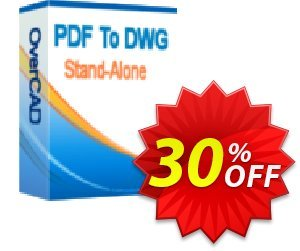 OverCAD PDF to DWG Coupon, discount OverCAD PDF to DWG amazing offer code 2021. Promotion: amazing offer code of OverCAD PDF to DWG 2021