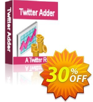 The Twitter Adder Coupon, discount The Twitter Adder staggering discount code 2021. Promotion: staggering discount code of The Twitter Adder 2021