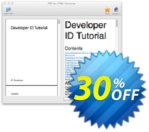 PDF to HTML Converter for Mac Coupon, discount PDF to HTML Converter for Mac excellent discounts code 2021. Promotion: excellent discounts code of PDF to HTML Converter for Mac 2021