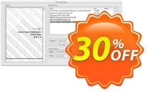 PDF Watermark for Mac discount coupon PDF Watermark for Mac amazing promo code 2020 - amazing promo code of PDF Watermark for Mac 2020