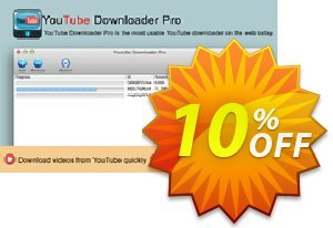 Youtube Downloader for Mac Coupon, discount Youtube Downloader for Mac formidable promo code 2021. Promotion: formidable promo code of Youtube Downloader for Mac 2021