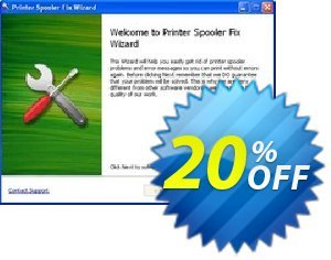 Printer Spooler Fix Wizard plus Stronghold AntiMalware offering deals