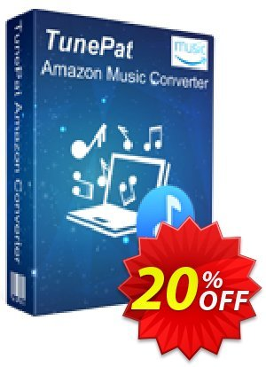 TunePat Amazon Music Converter for Mac Coupon, discount TunePat Amazon Music Converter for Mac amazing discounts code 2021. Promotion: amazing discounts code of TunePat Amazon Music Converter for Mac 2021