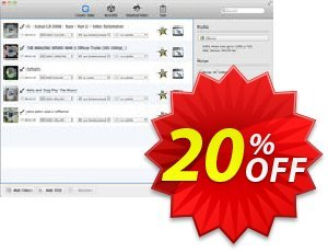 Any Video Converter for Mac Coupon discount Any Video Converter for Mac wonderful offer code 2020. Promotion: wonderful offer code of Any Video Converter for Mac 2020
