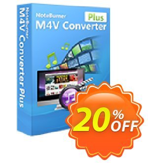 NoteBurner M4V Converter Plus for Mac Coupon, discount NoteBurner M4V Converter Plus for Mac best promotions code 2019. Promotion: best promotions code of NoteBurner M4V Converter Plus for Mac 2019